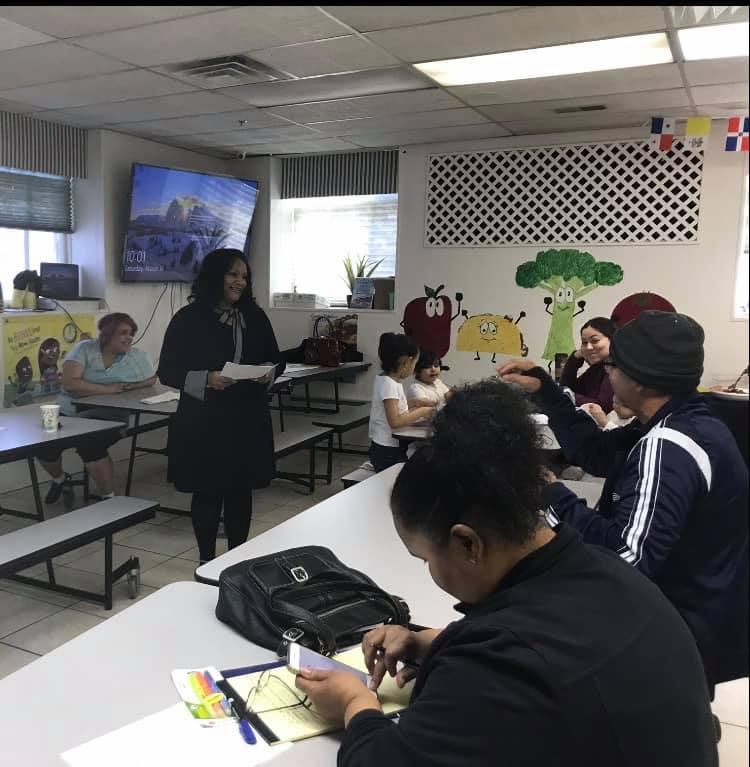 APN Cynthia teaching 1
