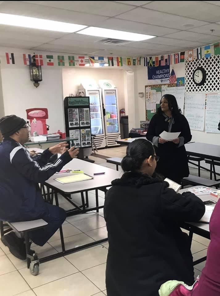 APN Cynthia teaching
